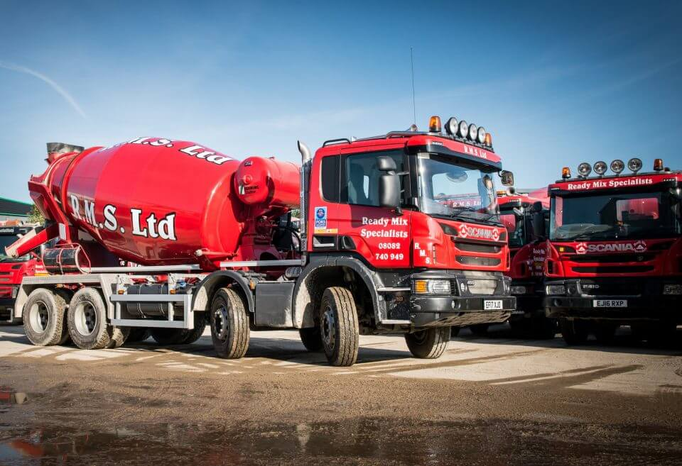 Ready Mix Concrete Fleet