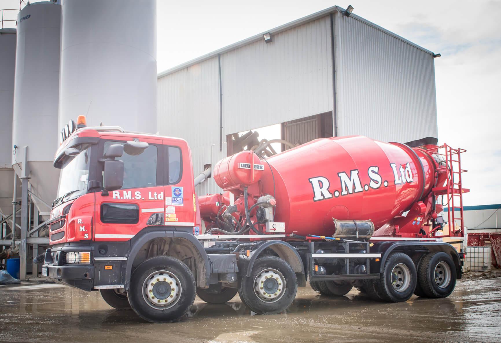 Ready Mix Concrete Truck