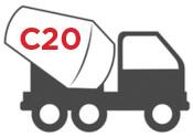 C20 Concrete mixer