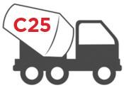 c25 Concrete mixer