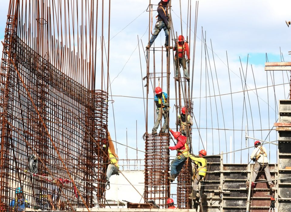 Concrete for construction industry